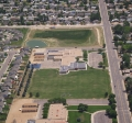 Aerial photo of Chappelow School and Open Space